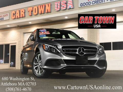 2015 Mercedes-Benz C-Class for sale at Car Town USA in Attleboro MA