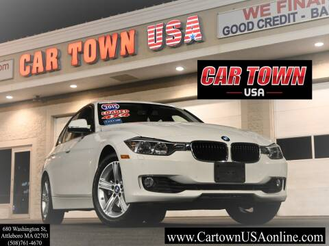2015 BMW 3 Series for sale at Car Town USA in Attleboro MA