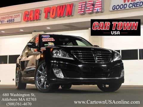 2012 Hyundai Equus for sale at Car Town USA in Attleboro MA