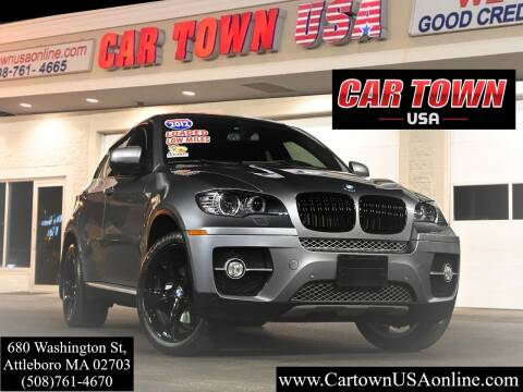2012 BMW X6 for sale at Car Town USA in Attleboro MA