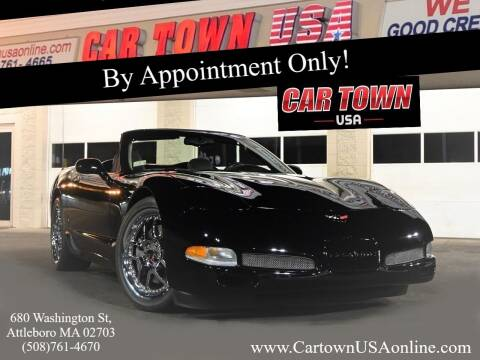2004 Chevrolet Corvette for sale at Car Town USA in Attleboro MA