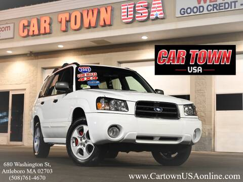 2003 Subaru Forester for sale at Car Town USA in Attleboro MA