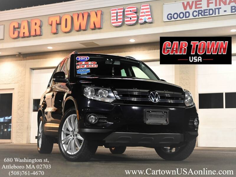 2012 Volkswagen Tiguan for sale at Car Town USA in Attleboro MA