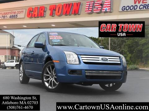 2009 Ford Fusion for sale at Car Town USA in Attleboro MA