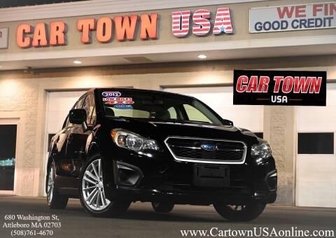2012 Subaru Impreza for sale at Car Town USA in Attleboro MA