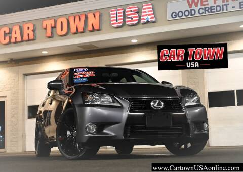 2014 Lexus GS 350 for sale at Car Town USA in Attleboro MA
