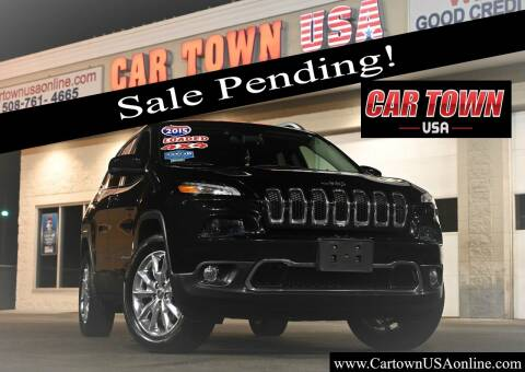 2015 Jeep Cherokee for sale at Car Town USA in Attleboro MA
