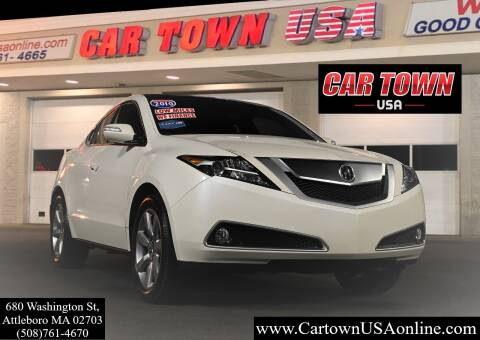 2010 Acura ZDX for sale at Car Town USA in Attleboro MA