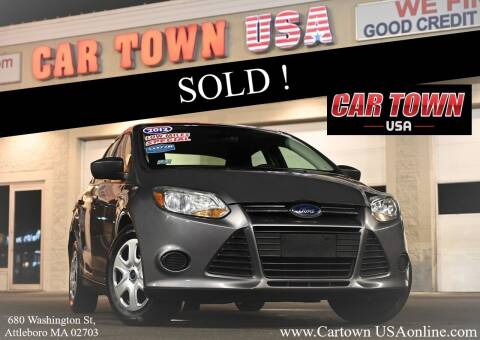 2012 Ford Focus for sale at Car Town USA in Attleboro MA