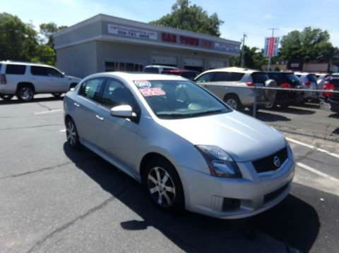 2012 Nissan Sentra for sale at Car Town USA in Attleboro MA