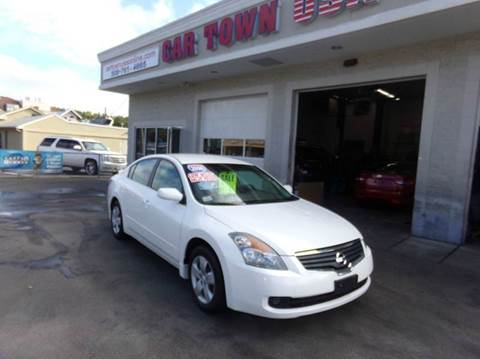 2008 Nissan Altima for sale at Car Town USA in Attleboro MA