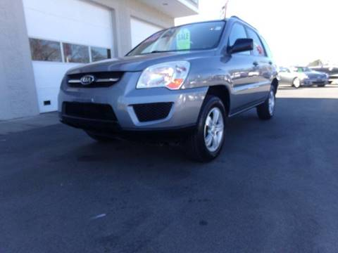 2009 Kia Sportage for sale at Car Town USA in Attleboro MA