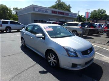 2012 Nissan Sentra for sale at Car Town USA in South Attleboro MA