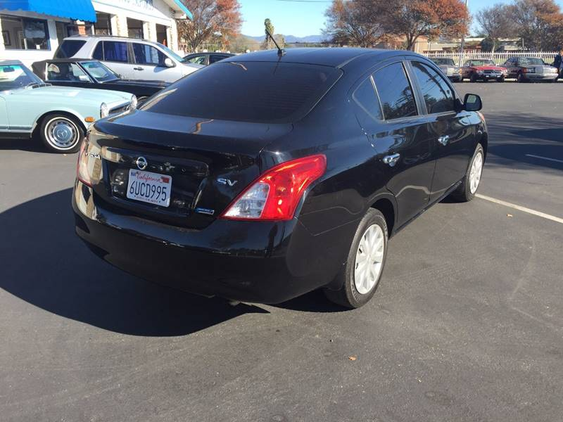 2012 Nissan Versa 1.6 SV 4dr Sedan - Santa  Ana CA