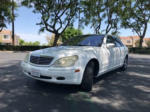 2001 Mercedes-Benz S-Class for sale at AllanteAuto.com in Santa Ana CA