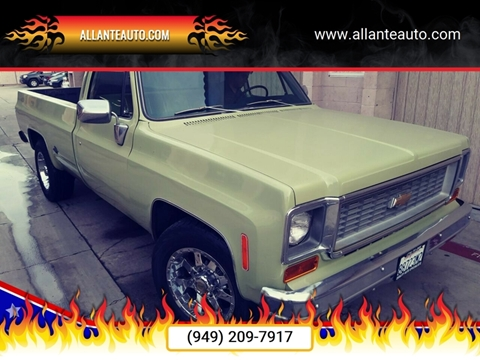 1974 Chevrolet C/K 20 Series for sale in Santa Ana, CA