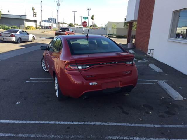 2013 Dodge Dart Rallye 4dr Sedan - Santa  Ana CA
