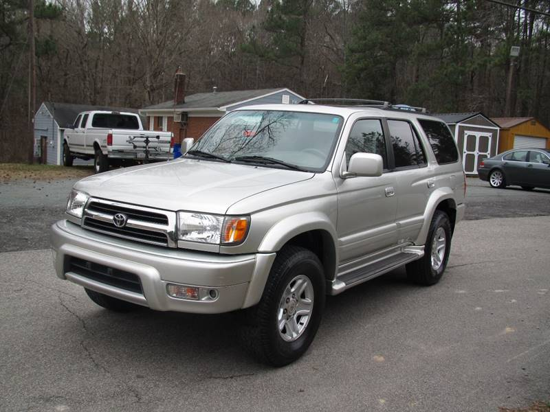 1999 Toyota 4Runner for sale at White Cross Auto Sales in Chapel Hill NC