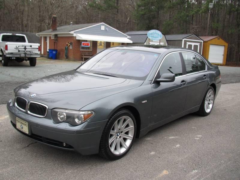 BMW Series I RWD For Sale CarGurus - 2002 bmw 745i price
