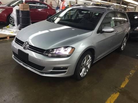 2015 Volkswagen Golf SportWagen for sale at White Cross Auto Sales in Chapel Hill NC