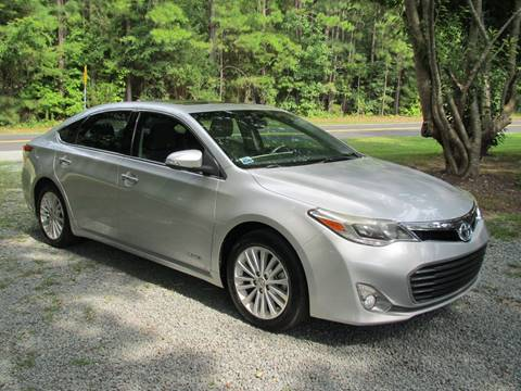 2013 Toyota Avalon For Sale >> 2013 Toyota Avalon Hybrid For Sale In Chapel Hill Nc