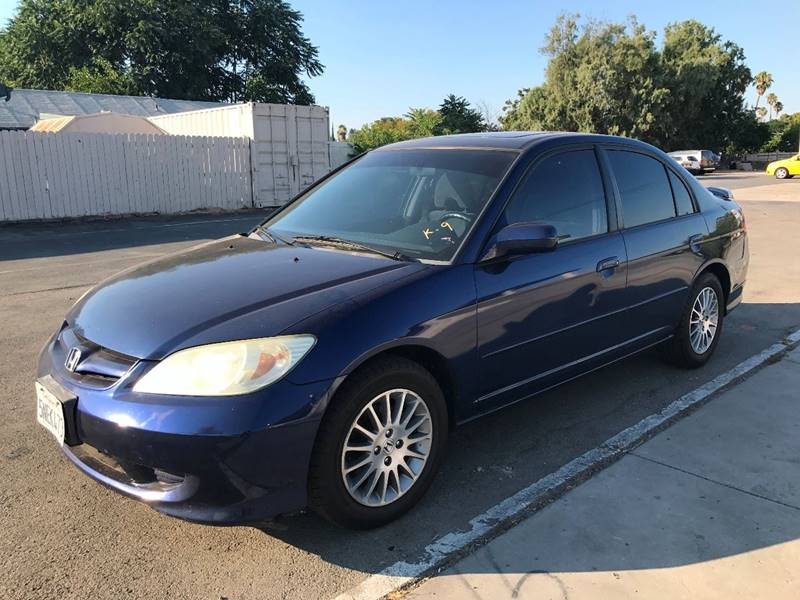 2005 Honda Civic EX 4dr Sedan - Santa Ana CA
