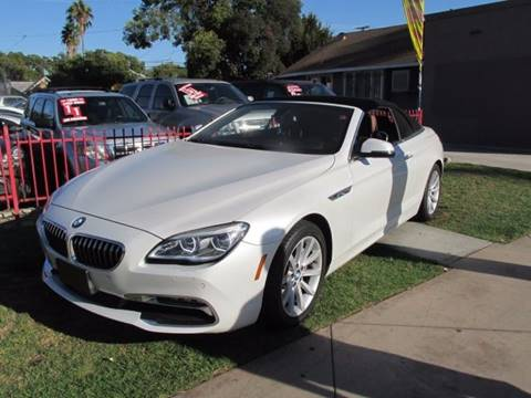 2016 BMW 6 Series for sale in Santa Ana, CA