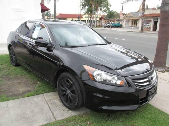 2012 Honda Accord EX L 4dr Sedan   Santa Ana CA