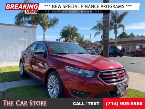2016 Ford Taurus for sale at The Car Store in Santa Ana CA