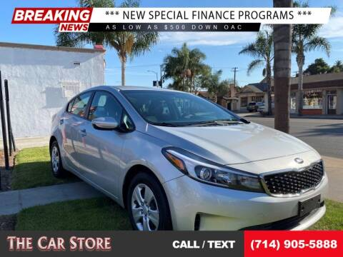 2017 Kia Forte for sale at The Car Store in Santa Ana CA