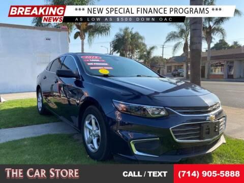 2018 Chevrolet Malibu for sale at The Car Store in Santa Ana CA