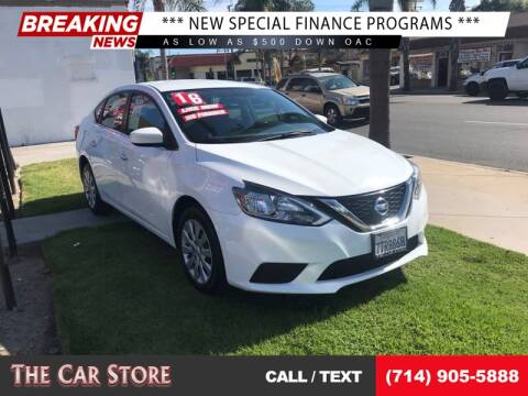 2016 Nissan Sentra for sale at The Car Store in Santa Ana CA