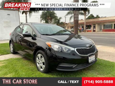 2016 Kia Forte for sale at The Car Store in Santa Ana CA