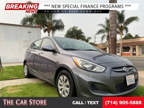 2017 Hyundai Accent for sale at The Car Store in Santa Ana CA