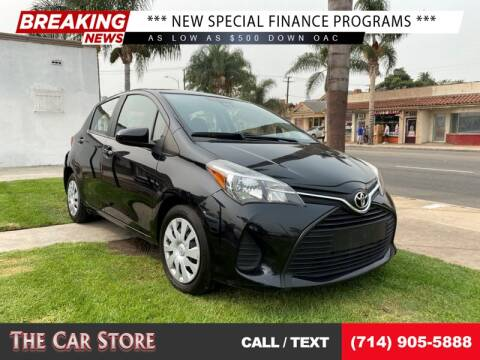 2017 Toyota Yaris for sale at The Car Store in Santa Ana CA