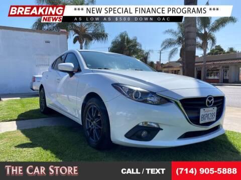 2016 Mazda MAZDA3 for sale at The Car Store in Santa Ana CA