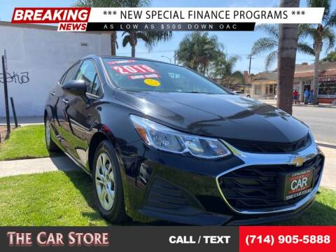 2019 Chevrolet Cruze for sale at The Car Store in Santa Ana CA