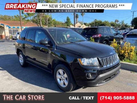 2017 Jeep Compass for sale at The Car Store in Santa Ana CA