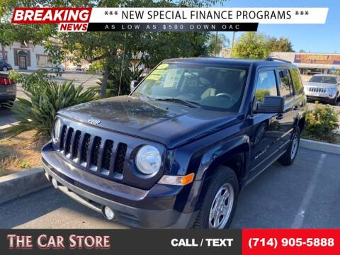 2014 Jeep Patriot for sale at The Car Store in Santa Ana CA