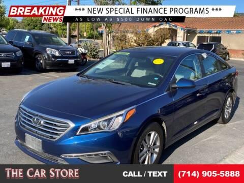 2015 Hyundai Sonata for sale at The Car Store in Santa Ana CA