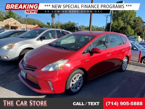 2013 Toyota Prius v for sale at The Car Store in Santa Ana CA