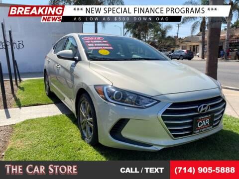 2018 Hyundai Elantra for sale at The Car Store in Santa Ana CA