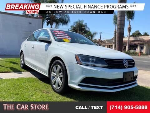 2017 Volkswagen Jetta for sale at The Car Store in Santa Ana CA