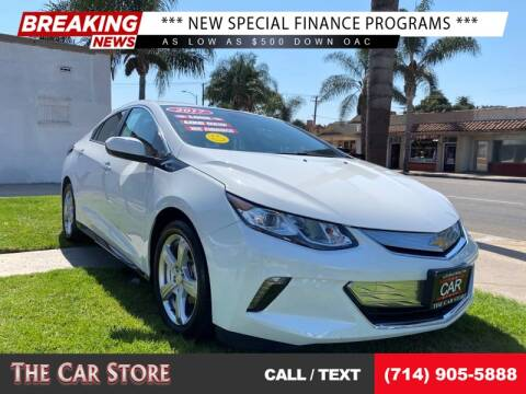 2017 Chevrolet Volt for sale at The Car Store in Santa Ana CA