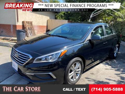 2017 Hyundai Sonata for sale at The Car Store in Santa Ana CA