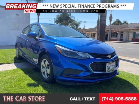 2017 Chevrolet Cruze for sale at The Car Store in Santa Ana CA