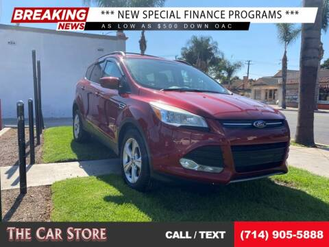 2013 Ford Escape for sale at The Car Store in Santa Ana CA