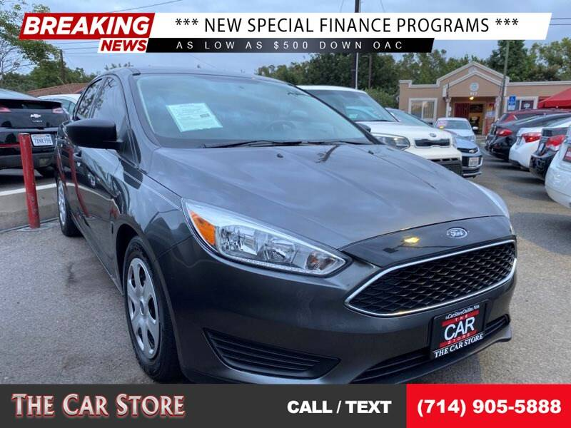 2017 Ford Focus for sale at The Car Store in Santa Ana CA