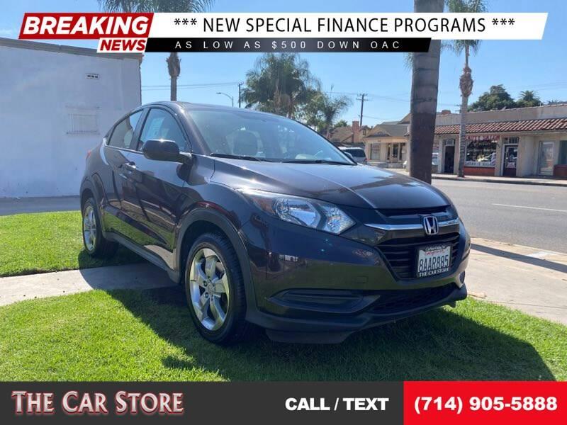 2017 Honda HR-V for sale at The Car Store in Santa Ana CA