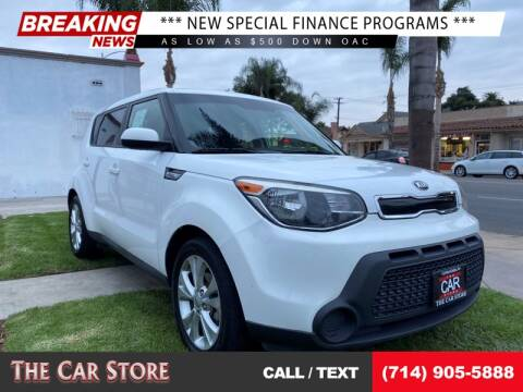 2015 Kia Soul for sale at The Car Store in Santa Ana CA